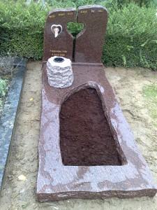 Duurzaam grafsteen