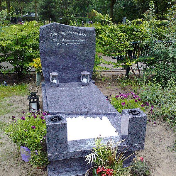 staande grafsteen graniet rotterdam